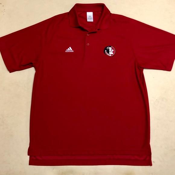 2854792761b adidas Shirts | Florida State University Mens Polo | Poshmark